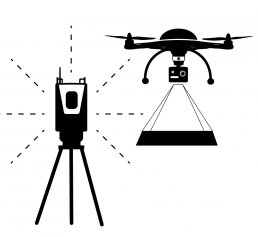 Ostromap - Mittauspalvelut | Laserkeilaus, UAV ikooni