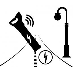 Ostromap - Mittauspalvelut | Johtokartoitus ikooni