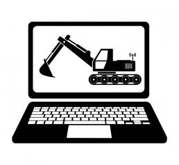 Ostromap - Mittauspalvelut | 3D-Koneohjaus ikooni