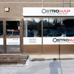 Ostromap - mittauspalvelut | Vaasan toimisto
